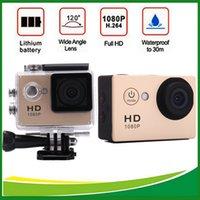 1080p waterproof hd digital video camera - FHD P Action Digital Camera inch Screen Photograph Camera Underwater waterproof Cameras Video Recorder Mini Camcorders A9