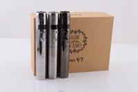 vamo kit - Vamo V7 Mod kit Electronic cigarette Vamo V7 W mod Stainless steel Variable Voltage V V with LCD display Vamo V7 in stock
