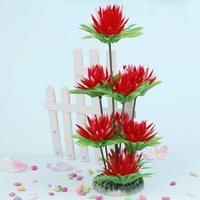 Wholesale Decoration Lifelike Plastic Simulated Sea Plants Marine Plants Flora for Aquarium Fish Tank With Umiwe Accessory