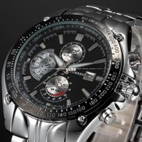 Wholesale relogio masculino Luxury CURREN Brand Full Stainless Steel Analog Display Date Men s Quartz Watch Casual Watch Men Wristwatch