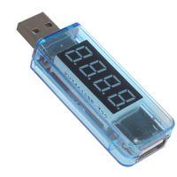 Wholesale Car USB Voltmeter Current Volt Meter Voltage Tester for Mobile Phone Charger