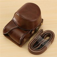 Wholesale Multicolor PU leather Camera Bag in Case Cover Pouch for Sony A5000 A5100 NEX N x7 x9cm