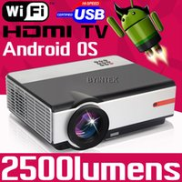 best projector brand - Best New Brand Smart Android Home Theater XGA HDMI LCD Video fulL HD P Wifi LED D Projector Projetor Proyector TV PC