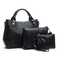 crocodile skin - 2015 women s handbags made of genuine crocodile skin bag women purses fashion postman shoulder bag Bolsas women messenger bags