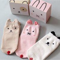 Wholesale 2016 Korean new arrival cartoon pure cotton children socks infant baby girls and boys socks kids cartoon socks whosale