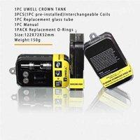 couronne uwell originale sous réservoir ohm Meilleur pour le 200w de Smok M80 X cube ii IPV4 vs Subtank Mini atlantis