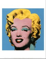 andy warhol gifts - Birthday gift Shot Blue Marilyn buy Andy Warhol abstract oil painting hand painted on linen
