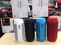 big computer speakers - New Pulse speaker pill bluetooth speaker Bluetooth audio wireless big sound box support TF card portable Speakers with LED light FM DHL EMS