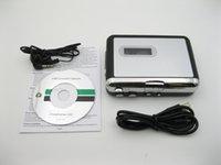 Wholesale 30pcs Portable USB Cassette Capture cassette to MP3 signal Converter Audio Music Player