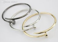 designer inspired jewelry - New Vintage DESIGNER INSPIRED Stainless Steel Cuff Bangle Screw Nail Bangle Bracelet Jewelry