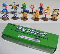 age penguin - 1 set Super Mario Bros Wii Collection Toy set Figures penguin mushroom star Bowser Princess