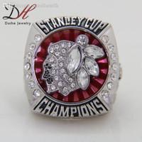 Al por mayor-2015 Anillo Campeonato halcones negros de Chicago de la Copa Stanley de anillo de bodas de los hombres en la venta, aficionados del deporte Anillo Maxi regalo de la joyería