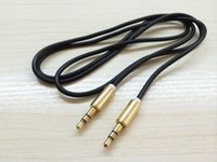 Wholesale Good quality cable audio mm to mm male to male extension cable aux cable for car headphone PM4 PM3