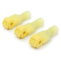 Wholesale New Arrival cm Nylon Yellow Male Insulated Wire Terminals Connectors AWG Durable