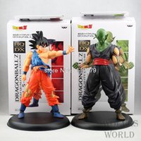 Wholesale 2pcs Dragon ball z action figures cm Boxed PVC Model Collection Toy Gift Dragonball Evolution Action Toy Figures