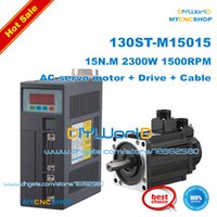 Wholesale 2 kw servo motor ST M15015 AC SERVO MOTOR N M W WITH DRIVER AND CABLE