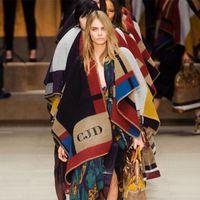 Wholesale Oversized cm OP cashmere scarf Fringed shawl blanket scarf coat lady woman fashion wool blend matching plaid shawl