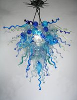 air blow - Air Shipping Mouth Blown Borosilicate Murano Glass Dale Chihuly Art Western Style Lighting Cheap Glass Chandelier Lamp
