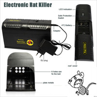 Wholesale Electronic Rat Trap Mice Mouse Trap Rodent Killer Electronic Shock cepo ratas EU Plug Adapter Eletronicos Insect Killer order lt no track