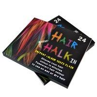 Wholesale Factory Price Colors Temporary Color Long Hair Chalk Dye Hair DIY Nontoxic Hair Color Chalk Pastel waitingyou