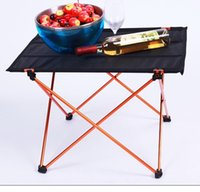 camping table - Portable Light Weight Folding Table Aluminium Alloy Foldable Outdoor Camping Table Picnic Table