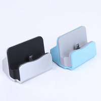 Wholesale Charger Docking Stand Station Cradle Charging Sync Dock for iPhone Plus S C Samsung galaxy Note2 i9220 S2 i9100 S3 i9300