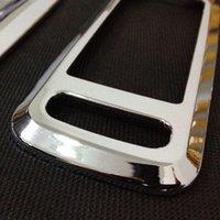 Wholesale Peugeot door glass lifter switch decorative door frame chrome modified internal panel sequins