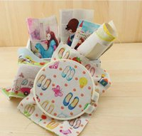 Wholesale children bekyoot cartoon Hand dyed cloth Digital print CM Cotton Linen Thick base fabric DIY hand bag Quilted