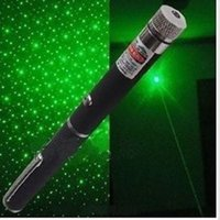 Wholesale Free DHL in Star Cap Pattern nm mw Green Laser Pointer Pen With Star Head Laser Kaleidoscope Light good
