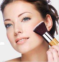 basic lighting kit - New Design Powder Brush Cosmetic Makeup Basic Tool Eco Friendly Cosmetics Tools Kit Wooden Handle