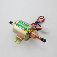 Wholesale Brand New Good Quality Electric Fuel Pump V Universal Gas Diesel Inline Low Pressure For ATV Mot