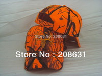ball hinges - Orange Hinging Fishing Outdoor Hat Cap Hat Sporting Cap Camo Hunting Caps Camouflage Hunting Hat Hats For Man