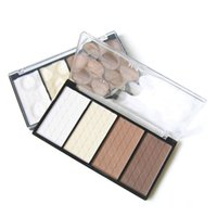 Wholesale Hot pc Make up Cosmetic in Four Color Contour Shading Pressed Powder Highlight M01077