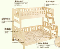 Wholesale 2016 a solid wood children bed Water environmental protection paint SUITABLE CHOICE DIY DIY DIY