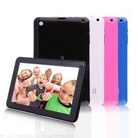 Precio de Tablet 9 inch-¡Envío gratis! iRULU 9 pulgadas Tablet PC Quadcore Google Android4.4 de la tableta de Allwinner A33 8GB capacitivo tabletas de doble cámara WIFI Bluetooth
