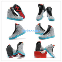 Wholesale 2013 Release Men Kevin Durant KD VI NSW Lifestyle Birthday Men s Sports Basketball Shoes Light Grey Anthracite White