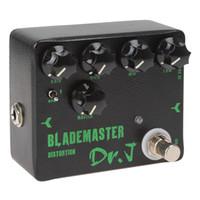 bass guitar effects - 3pcs Joyo Dr J D Electric Guitar Effect Pedal Blademaster Distortion High gain True Bypass Design Guitar Pedal MIA_235