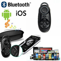 Wholesale 50pcs in Smart Mini Bluetooth Remote Selfie Remote Shutter Gamepad Player Controller Wireless Mouse for Phone iPad PC Game OM CB3