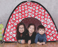 Wholesale Cartoon design kid tent suitable two or three children indoor playing water proofing size CM