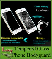 Wholesale 2 D Explosion proof Premium Tempered Glass Screen Protector for samsung Galaxy S7 S6 Edge note iphone s Plus s s