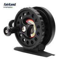 abs fake - 10pcs Fairiland BB mm Ice Fishing Reel Gear Ratio ABS Plastic Lightweight g oz Black Ice Fishing Vessel Wheel