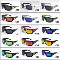 america frame - 20pcs CCA3082 High Quality Europe And America Style Color Brand New Sports Eyewear Unisex Vantage Sunglasses Outdoor Cycling Sunglasses