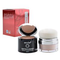 bare makeup palette - 2in1 Makeup Face Pressed Powder Bare Skin Mineral Powder Concealer Palette DHL