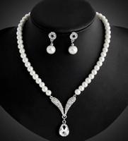 Perle collier pendentif Prix-Jeu de dames de demoiselle d'honneur pour le mariage