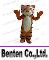 advertising apparel - Hot Tiger mascot costumes fancy dress party apparel animal mascot costume advertising LLFA2928F