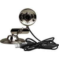 Cheap Jie ti JT - 619 computer camera Hd built-in microphone Night vision light metal QQ video camera