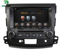 mitsubishi tv - New Androild Car DVD WiFi Hotspot TV G GPS Radio Multi touch Mobile Phone For Mitsubishi OUTLANDER KF