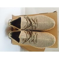 Cheap Factory Outlets Yeezy 350 Boost Oxford Tan Running Shoes Yeezy 350 Boost Athletic Shoes With Box