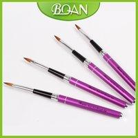 arts artistes - Kolinsky Nail Art Brush Acrylic d Nail Art Brush Popular Artiste Nail Brush Size