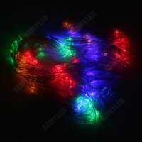 area net - With EU Plug m Area LEDs Beads Displays LED Net Lights For Fairy Christmas String Colors Waterproof